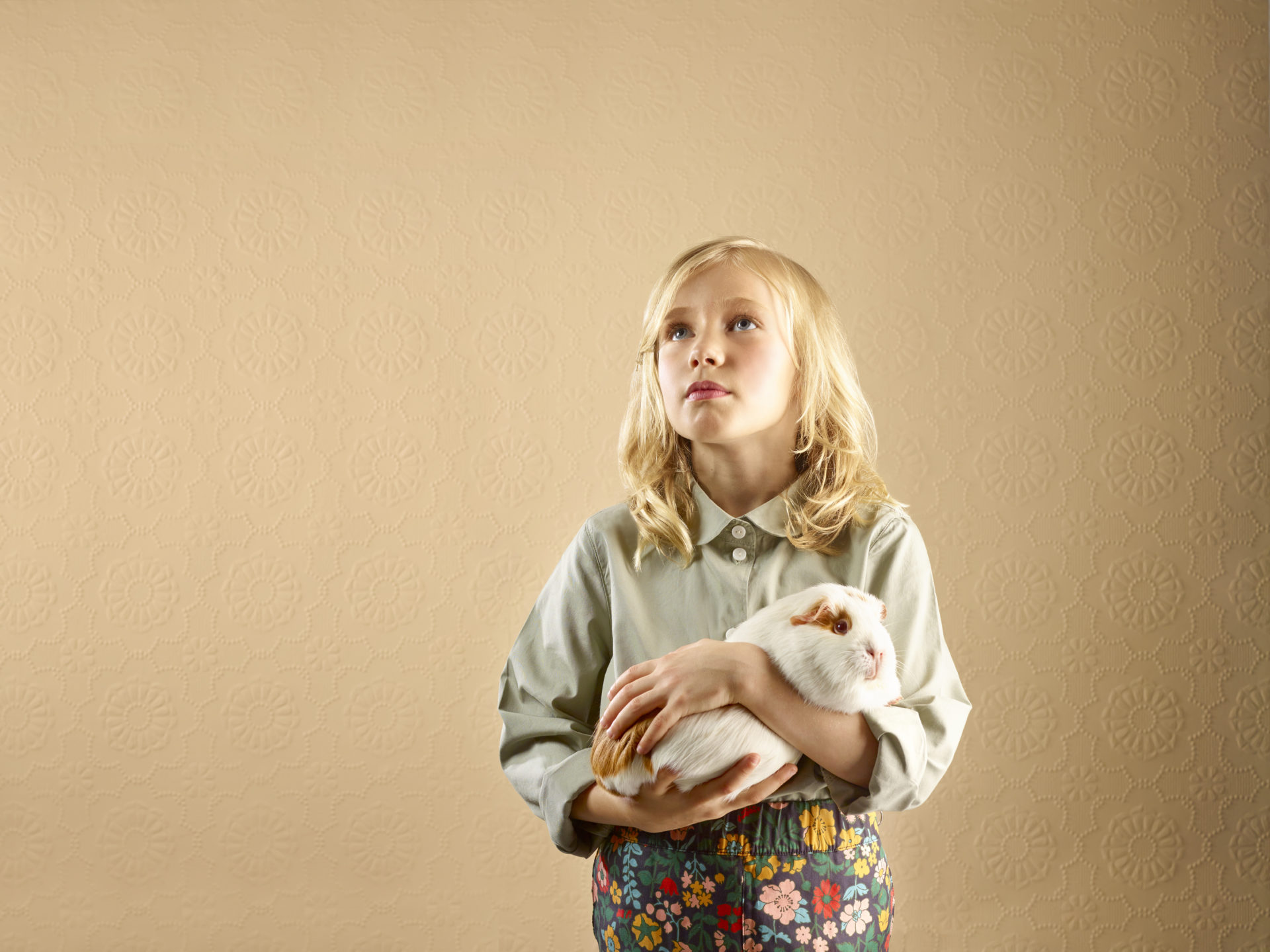 kids and pets – girl with a guinea pig – Shaw & Shaw Photography – Shaw and Shaw photographers photography Manchester