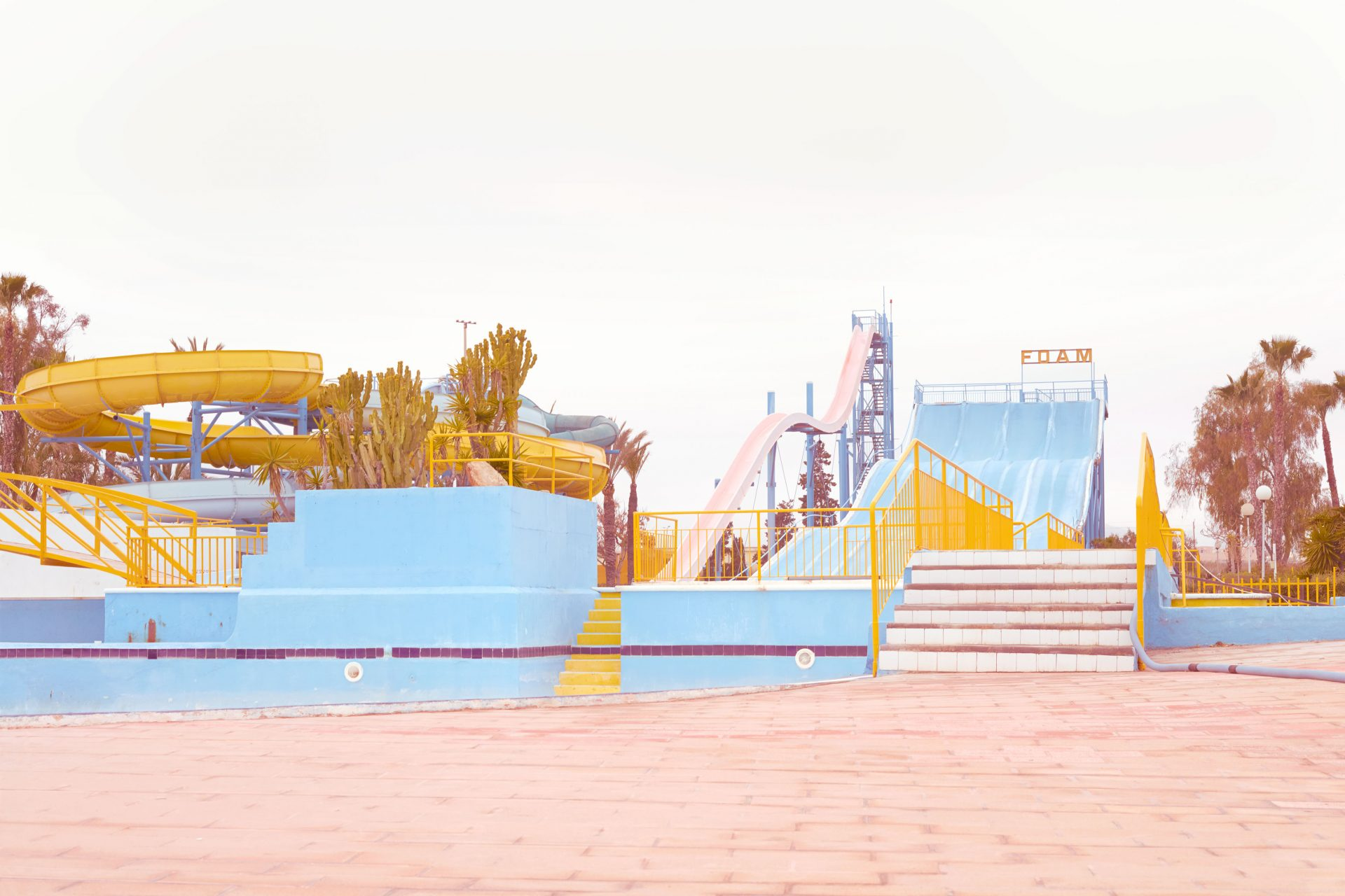 Skiddle Ibiza foam water world fun park – Shaw and Shaw Advertising photographers Manchester photographer – Shaw & Shaw Photography