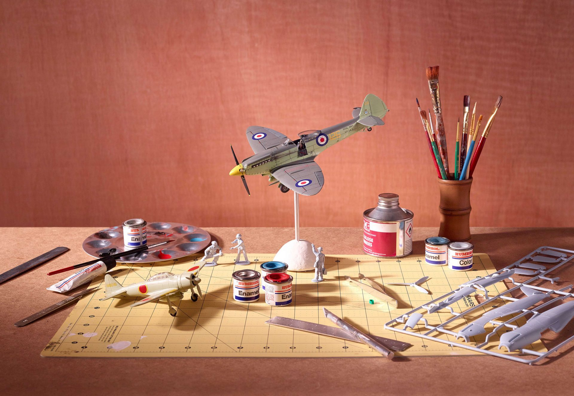 Shaw and Shaw Photography – Shaw & Shaw Photographers – Ladybird Books- Airfix model Spitfire
