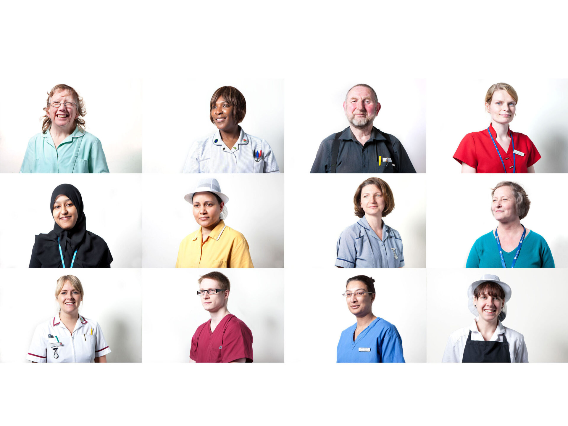Christie hospital – pictures of hospital staff – NHS National Health Service – Shaw & Shaw Photography campaign – Shaw and Shaw advertising photographers