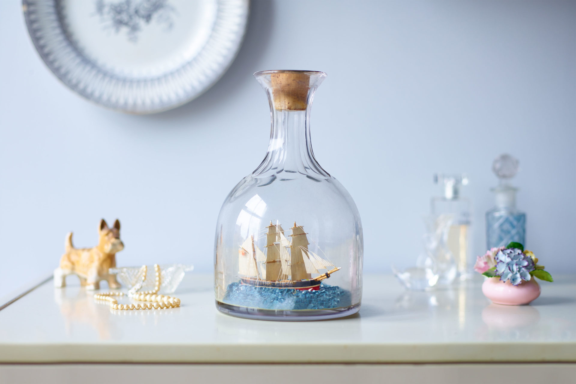 Ship in a bottle – Shaw & Shaw Photography campaign – Shaw and Shaw advertising photographers